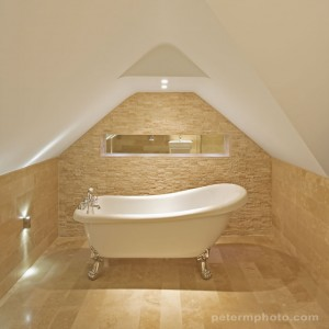 bathroom in a loft conversion