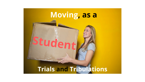 moving as a student